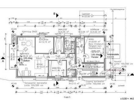 1.600 €, 120 m², 4 Zimmer