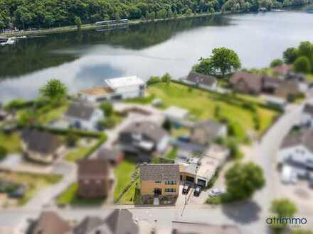 Wohnen mit Urlaubsflair! Kernsaniertes, EFH mit Garten und überdachter Terrasse am Stausee.