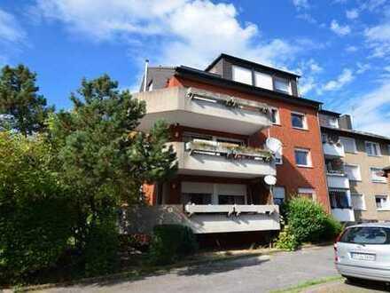 Modernisierte Dachgeschoßwohnung mit DACHLOGGIA in ruhiger Wohnlage!