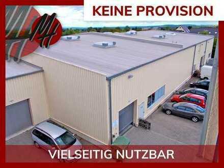 KEINE PROVISION ✓ NÄHE BAB 5 ✓ Lager-/Werkstatt (1.000 m²) & optional Büro (300-600 m²) zu vermieten