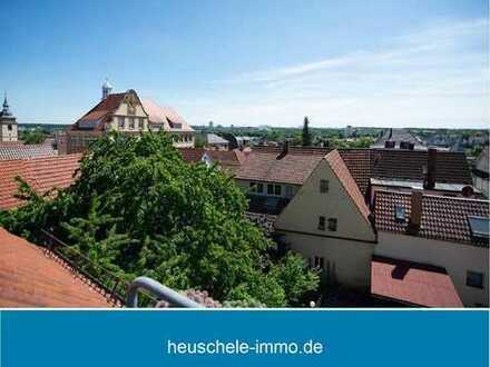 Aussichtsreiche 5½-Zimmer Maisonettewhg. mit über 140 m² Wohn-/ Nutzfläche in Bestlage zur Altstadt