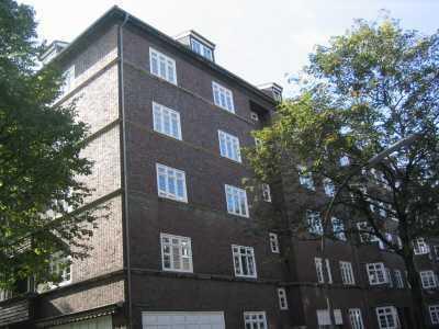 Großzügige 1 Zimmer Wohnung im ruhigen Hamburg Barmbek
