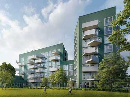 Bezaubernde 3-Zimmer-Wohnung auf ca. 68 m² Wohnfläche mit Süd-West-Balkon zum Innenhof