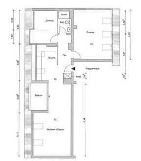 Schöne und komplett modernisierte 2,5-Zimmer-Wohnung in begehrter Lage