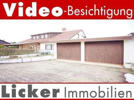 2 Fam.-Haus, 7,9 Ar, Doppelgarage und Carport
