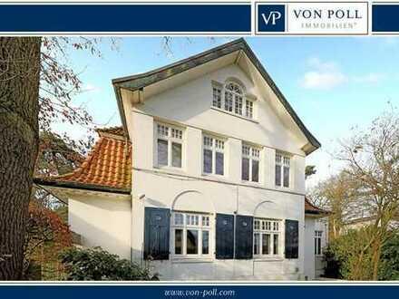 Historische Villa mit klassischen Stilelementen