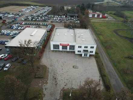 Bürogebäude mit Halle und Freifläche