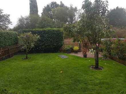 Gepflegte drei Zimmerwohnung mit traumhaften Garten in Südlage