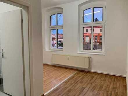 Sanierte 1-Zimmer-Hochparterre-Wohnung in Brandenburg an der Havel