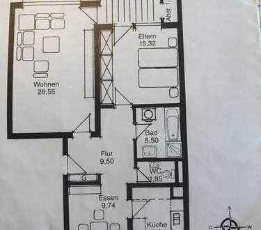 Gepflegte 2,5-Zimmer-Wohnung mit Balkon und fantastischem Schnitt in Bietigheim-Bissingen