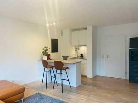 TOP ausgestattetes Apartment direkt am Rhein (Niehl) mit EBK, Tiefgarage