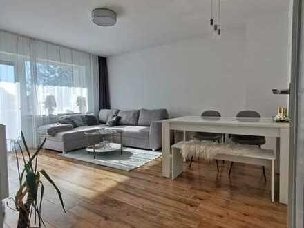 Gepflegte 2-Raum-EG-Wohnung mit Loggia (s/w) in Bonn-Duisdorf