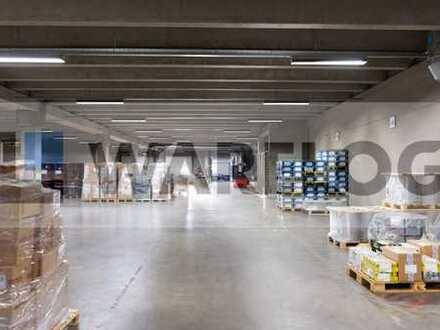 ca. 7.600 qm Lager-/Produktionsfläche zu vermieten!