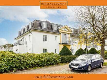 3-Zimmer-Eigentumswohnung mit TG-Stellplatz in ruhiger Lage am Golf- und Country Club Seddiner See