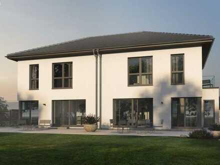 Einfamilienhaus im KfW 55 Standard mit Grundstück
