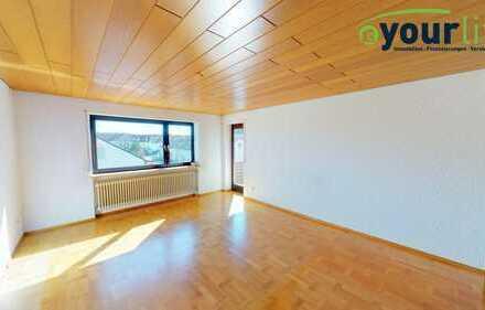 Schön geschnittene 3-Zimmer-Wohnung in zentraler Lage von Neugablonz