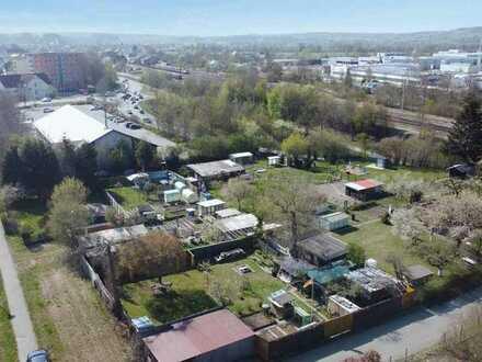 Grundstück mit Kleingartenanlage - verpachtet