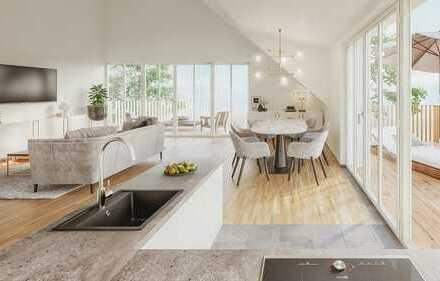 Exklusives 4-Zimmer-Penthouse im komfortablen Neubau mit herrlichen Aussichten