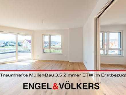 DÜW-Fronhof II: Traumhafte Müller-Bau 3,5 Zimmer ETW im Erstbezug!