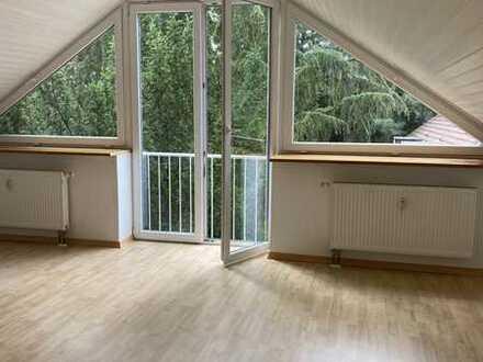 Single-Wohnung mit Blick ins Grüne