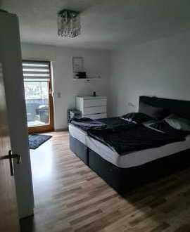 Modernisierte 3-Zimmer-Wohnung mit Balkon und Einbauküche in Dormettingen