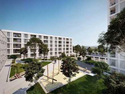 Urbanität trifft auf Natur - BELVEDERE! 2-Zimmer-Wohnung mit Loggia in München Pasing-Obermenzing