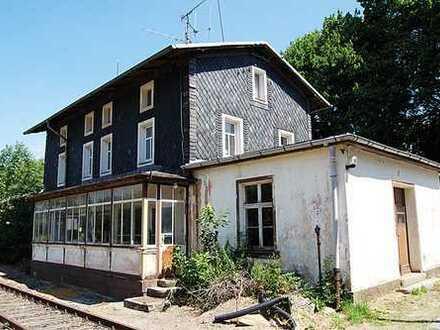 Online.Auktion Bahnhofsgebäude - tlw. vermietet (O-308)