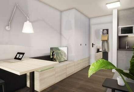 Möbliertes Apartment (Kombieinheit Komfort, Typ F/E) mit bis zu 18.000 € Tilgungszuschuss