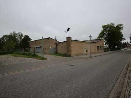 Großzügige Werkstatt im Zentrum von Zehdenick