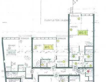 1-Zi DG Wohn. mit Schlafgalerie in Offenburg - Innenstadt