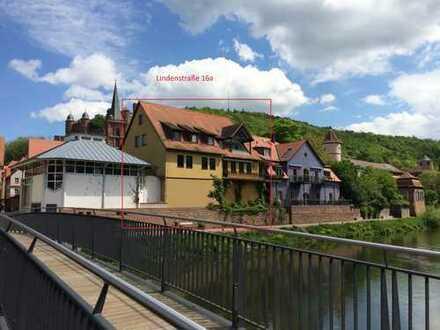 Wohn- und Geschäftshaus in traumhafter Lage in Wertheim unmittelbar am Tauberufer