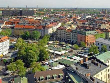 Viktualienmarkt - über den Dächern Münchens - WG geeignete 3 Zimmer Wohnung