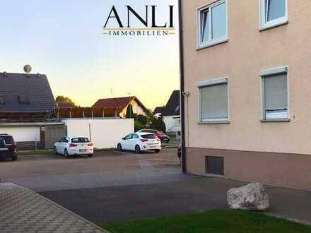 Lichtdurchflutete 2 Zimmer Wohnung mit Stellplatz in Vöhringen