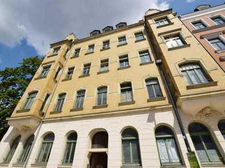 Solide vermietete 1-Raum-Wohnung mit Terrasse in UNI-naher Wohnlage!