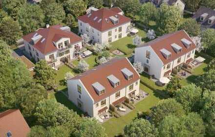 Josef Widmann Park, DIE ruhige Bestlage in Alt-Aubing! Neubau Reihen-Eck-Häuser im XXL Format