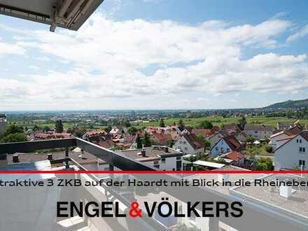 Attraktive 3 ZKB auf der Haardt mit Blick in die Rheinebene!
