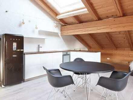 Wunderschöne DG-Wohnung mit Bergblick, 71m2