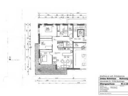 Neuwertige 3,5 / 4,5-Zimmer-Wohnung mit Entwicklungspotenzial in idealer Wohnlage