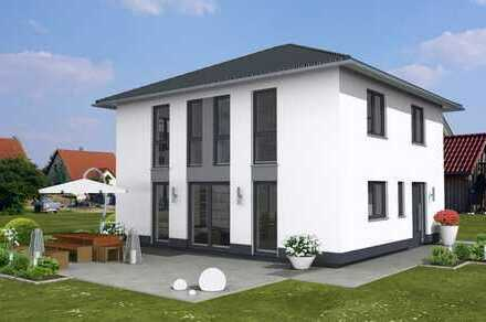 Sonnenbauplatz! Bezugsfertiger Neubau 5-Zimmer-Stadtvilla inkl. Garage, Anschlüsse usw.