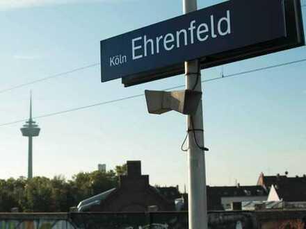 Vielseitig nutzbar - gemütliches Büro / Praxis / Lager mit offener Küche und Bad - in Alt-Ehrenfeld