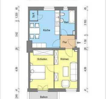 *geräumige 2 Zimmerwohnung mit Balkon*