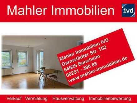 teilmöblierte 2 ZKB in Bensheim-Hochstädten mit Einbauküche und Terrasse