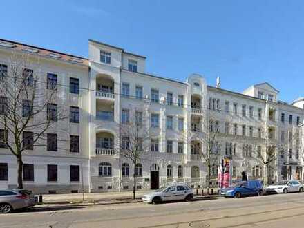 Sehr gut vermietete Kapitalanlage mit Gartenanteil in beliebter Gohliser Wohnlage