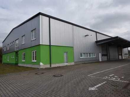 Separates Bürohaus im Gewerbegebiet - bei Bedarf mit Hallenfläche anmietbar
