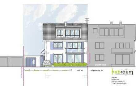 Stilvolle, neuwertige 4-Zimmer-Wohnung mit Garten und Balkon sowie einigen Extras in Böblingen