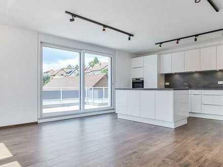 Moderne und helle 2 Zimmer Wohnung mit großer Terrasse