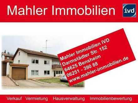 Heppenheim Kirschhausen – großzügiges Ein- bis Zweifamilienhaus mit viel Potenzial