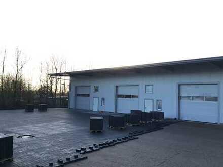 Helle Gewerbehalle in Rendsburg