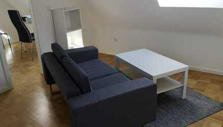 TOP-sanierte 2-Zi. DG-Wohnung in Bonn-Küdinghoven. Möbliert! Ideal für Berufspendler.
