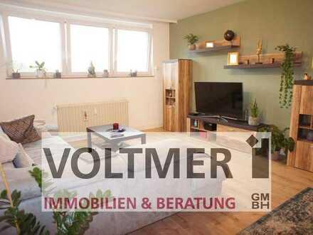 GEMÜTLICHKEIT helle 3-Zimmer-Wohnung mit Einbauküche in Friedrichsthal